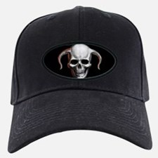 Horned Skull Baseball Cap