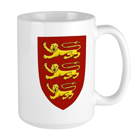 Lionheart Shield Large Mug