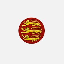 Plantagenet Lions Mini Button