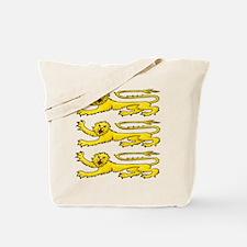 Plantagenet Lions Tote Bag