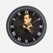 Isn't it Byronic? Wall Clock