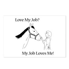 Love My Job Equine Postcards (Package of 8)