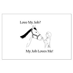 Love My Job Equine Posters