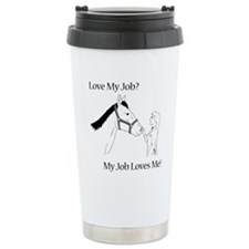 Love My Job Equine Travel Mug