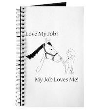 Love My Job Equine Journal