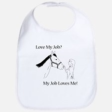 Love My Job Equine Bib