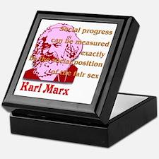 Social Progress Keepsake Box