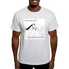 Equine Veterinarian (male) T-Shirt