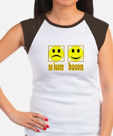 Hoo-Ray For Bacon Women's Cap Sleeve T-Shirt