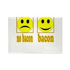 Hoo-Ray For Bacon Rectangle Magnet (100 pack)