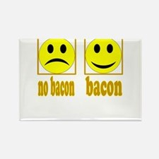 Hoo-Ray For Bacon Rectangle Magnet (10 pack)