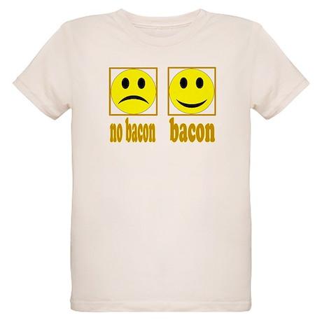 Hoo-Ray For Bacon Organic Kids T-Shirt