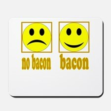 Hoo-Ray For Bacon Mousepad