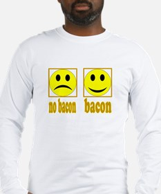 Hoo-Ray For Bacon Long Sleeve T-Shirt