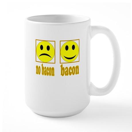Hoo-Ray For Bacon Large Mug