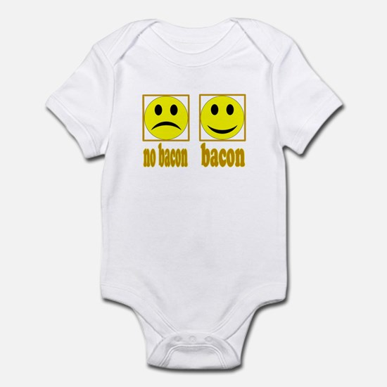 Hoo-Ray For Bacon Infant Bodysuit