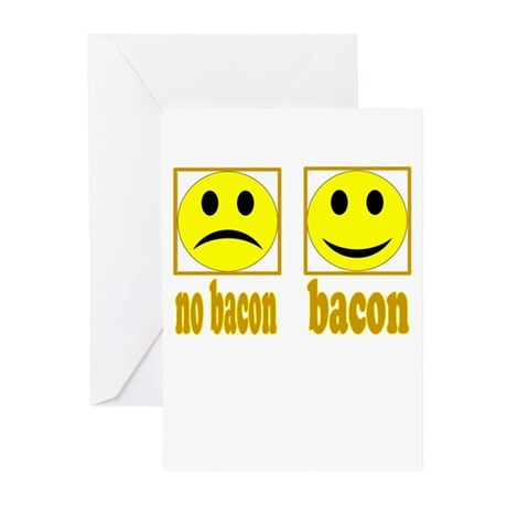 Hoo-Ray For Bacon Greeting Cards (Pk of 10)