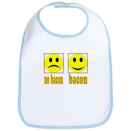 Hoo-Ray For Bacon Bib