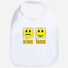 Hoo-Ray For Bacon Bib