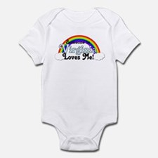 Someone in Virginia Loves Me Infant Bodysuit