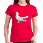 Flying Oriental Roller Pigeon Women's Dark T-Shirt