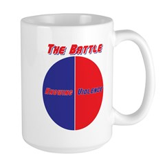 Half The Battle Large Mug