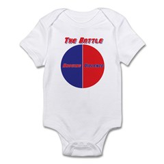 Half The Battle Infant Bodysuit