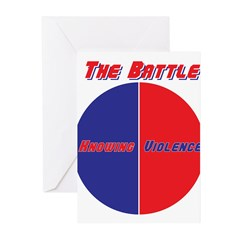 Half The Battle Greeting Cards (Pk of 10)