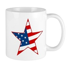 Flag Star Mug
