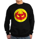 Simple Devil Icon Sweatshirt (dark)