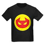 Simple Devil Icon Kids Dark T-Shirt