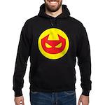 Simple Devil Icon Hoodie (dark)