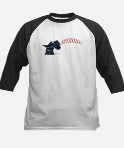 Arroo Scottish Terrier Kids Baseball Jersey
