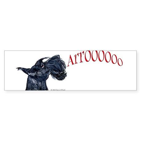 Arroo Scottish Terrier Sticker (Bumper)