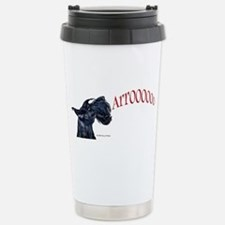 Arroo Scottish Terrier Stainless Steel Travel Mug