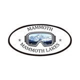 Mammoth mountain snowboarding Patches