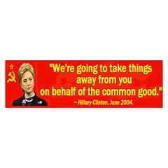Hillary 2008 Bumper Bumper Sticker
