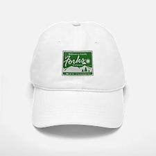 Welcome to Forks Baseball Baseball Cap