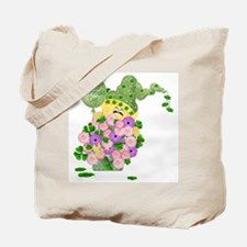 Happy St. Patrick's Day (flowers) Tote Bag