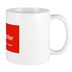 Hillary Dog Catcher Mug