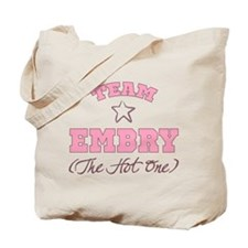 Hot Team Embry Tote Bag