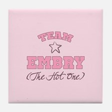 Hot Team Embry Tile Coaster