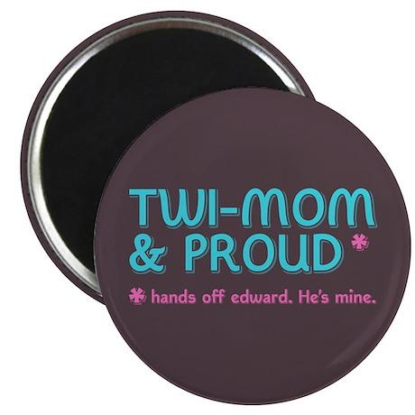 "Twi-Mom for Edward 2.25"" Magnet (100 pack)"