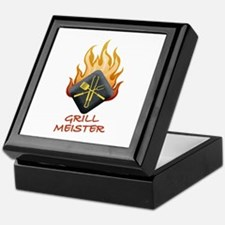 Grill Master Keepsake Box