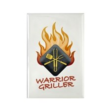 Grill Master Rectangle Magnet (100 pack)