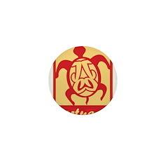 Tortugas Logo Mini Button (10 pack)