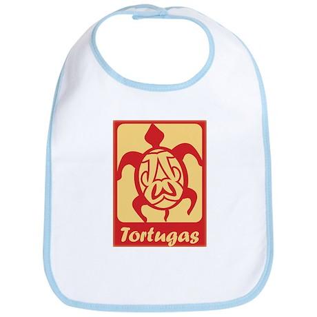 Tortugas Logo Bib