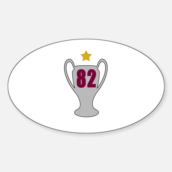 82* Sticker (Oval)