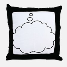 What are you thinking? Throw Pillow