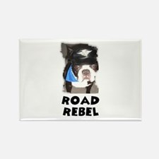 ROAD REBEL Rectangle Magnet
